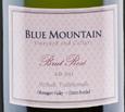 蓝山酒庄极干型桃红起泡酒(Blue Mountain Vineyard Rose Brut, Okanagan Valley, Canada)