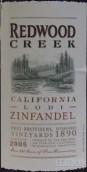 弗雷兄弟红木溪仙粉黛干红葡萄酒(Frei Brothers Redwood Creek Lodi Zinfandel,California,USA)