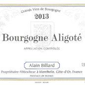 比亚尔酒庄阿里高特白葡萄酒(Domaine Alain Billard Aligote,Burgundy,France)