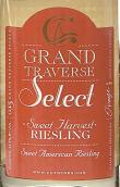 穿越酒庄精选雷司令甜白葡萄酒(Chateau Grand Traverse Select Sweet Harvest Riesling,Old ...)