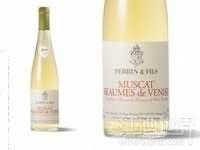 佩兰尼斯麝香干白葡萄酒(Perrin&Fils Muscat de Beaumes-de-Venise,Rhone,France)