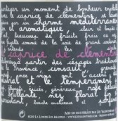 瓦伦汀尼斯克莱门汀随想曲干白葡萄酒(Chateau Les Valentines Cotes de Provence Le Caprice de Clementine Blanc, Provence, France)