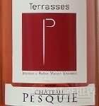 Chateau Pesquie Cotes du Ventoux Terrasses Rose,Rhone,France