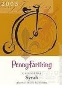 史密斯佩妮双轮西拉干红葡萄酒(WineSmith Penny Farthing Syrah,California,USA)