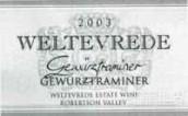伟铁芙雷德琼瑶浆干白葡萄酒(Weltevrede Gewurztraminer,Robertson,South Africa)