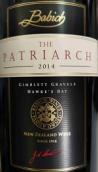 百祺掌门人赤霞珠干红葡萄酒(Babich The Patriarch Cabernet Sauvignon, Hawke's Bay, New Zealand)