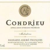 安德烈·弗朗索瓦酒庄马拉迪乐(孔得里约)白葡萄酒(Domaine Andre Francois La Maladiere,Condrieu,France)