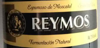 雷蒙酒庄自然发酵麝香起泡酒(Reymos Fermentación Natural Espumoso de Moscatel,Valencia,...)