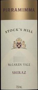 皮拉米玛斯塔克山西拉半干红葡萄酒(Pirramimma Stock's Hill Shiraz,McLaren Vale,Australia)