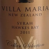 新玛利酒窖特选西拉干红葡萄酒(Villa Maria Cellar Selection Syrah,Hawkes Bay,New Zealand)