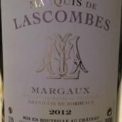 拉斯孔布侯爵酒庄干红葡萄酒(Marquis De Lascombes,Margaux,France)