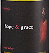 希望与优雅酒庄雷司令干白葡萄酒(Hope&Grace Dry Riesling,Napa Valley,USA)