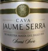 水晶金钻半干型卡瓦起泡酒(Jaume Serra Cristalino Semi-Seco Cava,Penedes,Spain)
