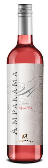 卡萨蒙特阿帕卡玛西拉甜红葡萄酒(Casa Montes Ampakama Dulce Syrah Rose,San Juan,Argentina)