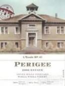 艾科勒七山庄园低点干红葡萄酒(L'ecole no 41 Seven Hills Vineyard Perigee, Walla Walla Valley, USA)