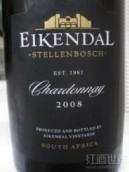 艾肯德洒庄霞多丽干白葡萄酒(Eikendal Chardonnay,Durbanville,South Africa)