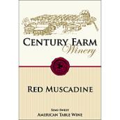 世纪农场玛斯克汀红葡萄酒(Century Farm Winery Red Muscadine, Mississippi Delta, USA)