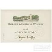 蒙大维金莫斯卡托白葡萄酒(Robert Mondavi Winery Moscato d'Oro, Napa Valley, USA)