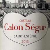 凯隆世家庄园红葡萄酒(Chateau Calon Segur,Saint-Estephe,France)