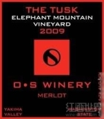 欧文大象山园象牙梅洛干红葡萄酒(Owen Sullivan Elephant Mountain Vineyard The Tusk Merlot,...)