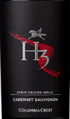 哥伦比亚山峰H3赤霞珠红葡萄酒(Columbia Crest H3 Cabernet Sauvignon, Horse Heaven Hills, USA)
