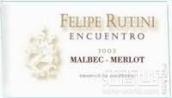 露迪尼汝帝尼馬爾貝克-梅洛干紅葡萄酒(Rutini Wines Felipe Rutini Encuentro Malbec - Merlot, Tupungato, Argentina)