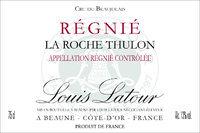 路易拉图雷妮罗奇诗伦干红葡萄酒(Louis Latour Regnie La Roche Thulon,Cru du Beaujolais,France)