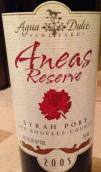 阿瓜杜塞尔珍藏西拉波特风格加强酒(Agua Dulce Winery Reserve Syrah Port,Paso Robles,USA)