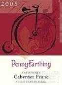 史密斯佩妮双轮品丽珠干红葡萄酒(WineSmith Penny Farthing Cabernet Franc,California,USA)