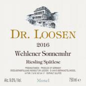 露森酒庄温勒内日晷园雷司令精选白葡萄酒(Dr. Loosen Wehlener Sonnenuhr Riesling Auslese, Mosel, Germany)