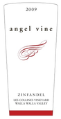 天使藤山麓葡萄园仙粉黛红葡萄酒(Angel Vine Les Collines Vinyard Zinfandel, Washington, USA)