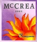 麦克雷天空骑士园胡珊白葡萄酒(McCrea Cellars Ciel du Cheval Vineyard Roussanne, Red Mountain, USA)