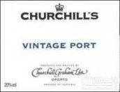 丘吉尔年份波特酒(Churchill's Vintage Port,Douro,Portugal)