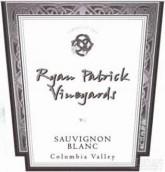 瑞安帕特里克长相思干白葡萄酒(Ryan Patrick Sauvignon Blanc, Columbia Valley, USA)