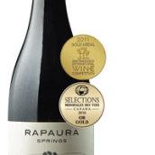 娜保拉泉珍藏黑皮诺干红葡萄酒(Rapaura Springs Reserve Pinot Noir,Marlborough,New Zealand)