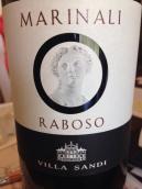 薇拉圣地酒庄马瑞纳利拉波索干红葡萄酒(Villa Sandi Marinali Raboso, Marca Trevigiana, Italy)
