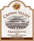 冠谷酒庄塔明内波特风格加强酒(Crown Valley Winery Grand Traminette, Ozark Highlands, USA)