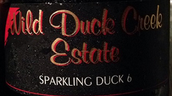 野鸭河杜克西拉起泡酒(Wild Duck Creek Estate Sparkling Duck Syrah, Heathcote, Australia)