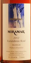 米拉玛尤拉德里桃红葡萄酒(Miramar Wines Eurunderee Rose,Mudgee,Australia)