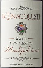 伯纳奎第蒙特布查诺干红葡萄酒(Bonacquisti Wine Company Montepulciano,Colorado,USA)