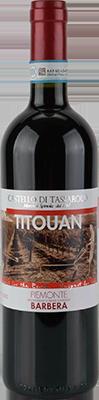 塔萨罗洛帝托安巴贝拉干红葡萄酒(Castello di Tassarolo Titouan Barbera,Piedmont,Italy)