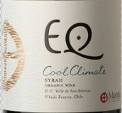 玛德帝克EQ西拉干红葡萄酒(Matetic EQ Syrah, San Antonio Valley, Chile)