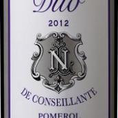 康色扬酒庄副牌干红葡萄酒(Duo de Conseillante, Pomerol, France)