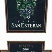圣•艾斯坍布珍藏佳美娜干红葡萄酒(Vina San Esteban Reserva Carmenere,Aconcagua Valley,Chile)