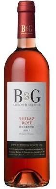 巴顿嘉斯蒂西拉桃红葡萄酒(Barton&Guestier Reserve Shiraz Rose,Vin de Pays d'Oc,France)