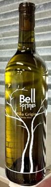 贝斯普林斯酒庄灰皮诺干白葡萄酒(Bell Springs Winery Pinot Grigio,Texas,USA)