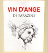 帕拉佐尔酒庄天使白葡萄酒(Domaine Parazols Vin d'Ange Blanc,IGP Pays d'Oc,France)