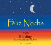 欢夜酒庄雷司令干白葡萄酒(Feliz Noche Riesling,Santa Barbara County,USA)