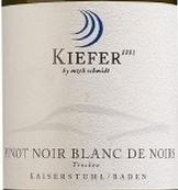 基弗酒庄经典黑皮诺黑中白干白葡萄酒(Weingut Kiefer Klassiker Pinot Noir Blanc de Noirs Qba ...)