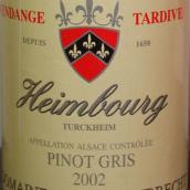 鸿布列什翰伯格园灰皮诺迟摘甜白葡萄酒(Domaine Zind-Humbrecht Heimbourg Pinot Gris Vendange Tardive...)